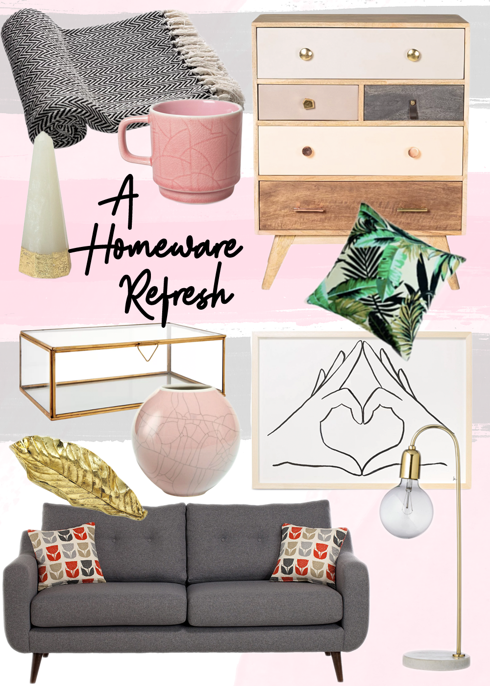 A Homeware Refresh for the New Year Wishlist