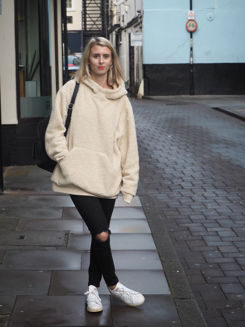 ASOS Teddy Hoody LUCY COLE