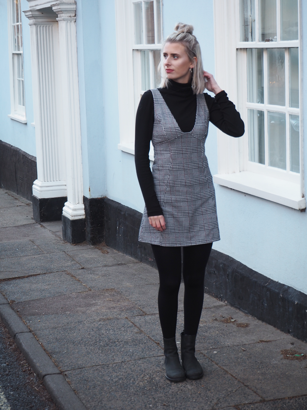 That Topshop Pinafore // LUCY-COLE