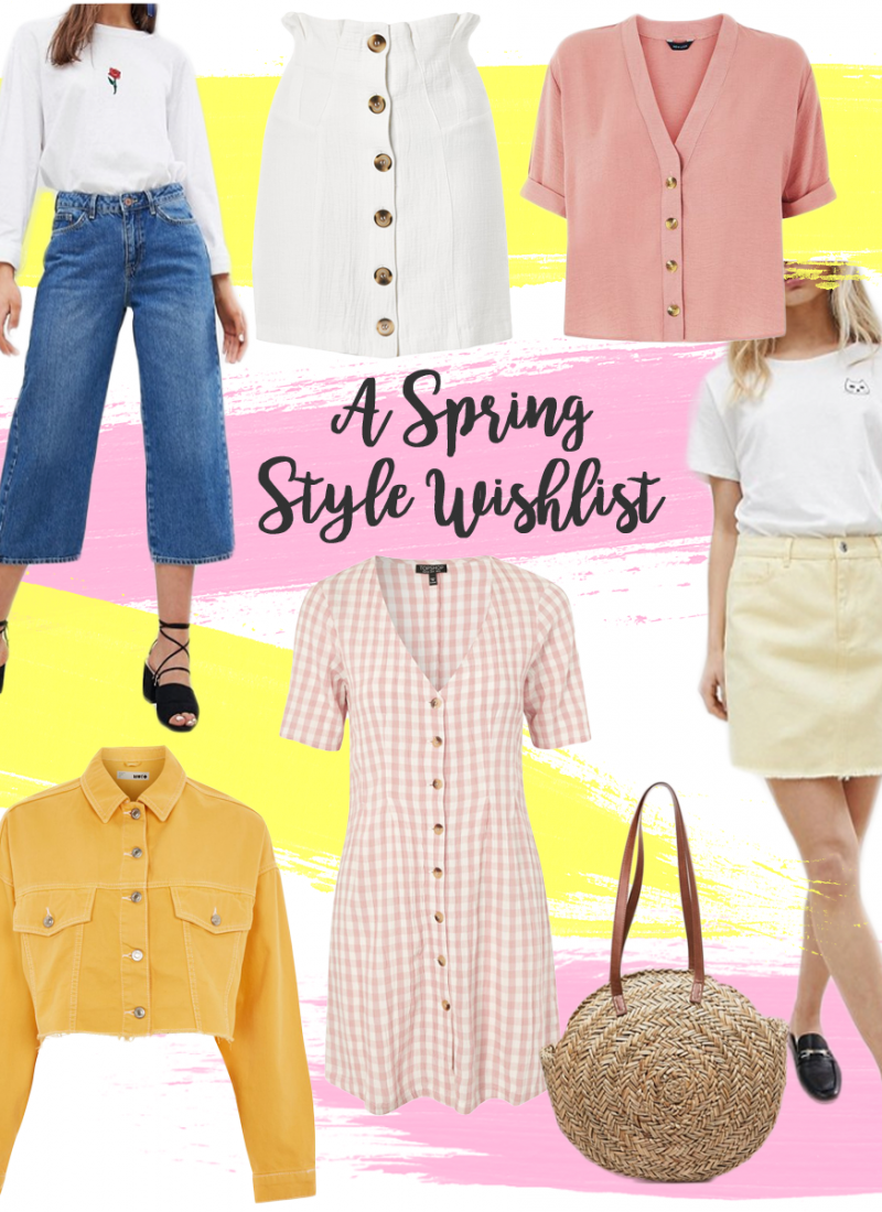A Spring Style Wishlist // LUCY-COLE