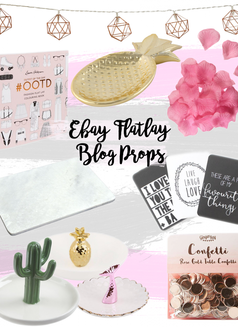 Blog photography props that won't break the bank from eBay