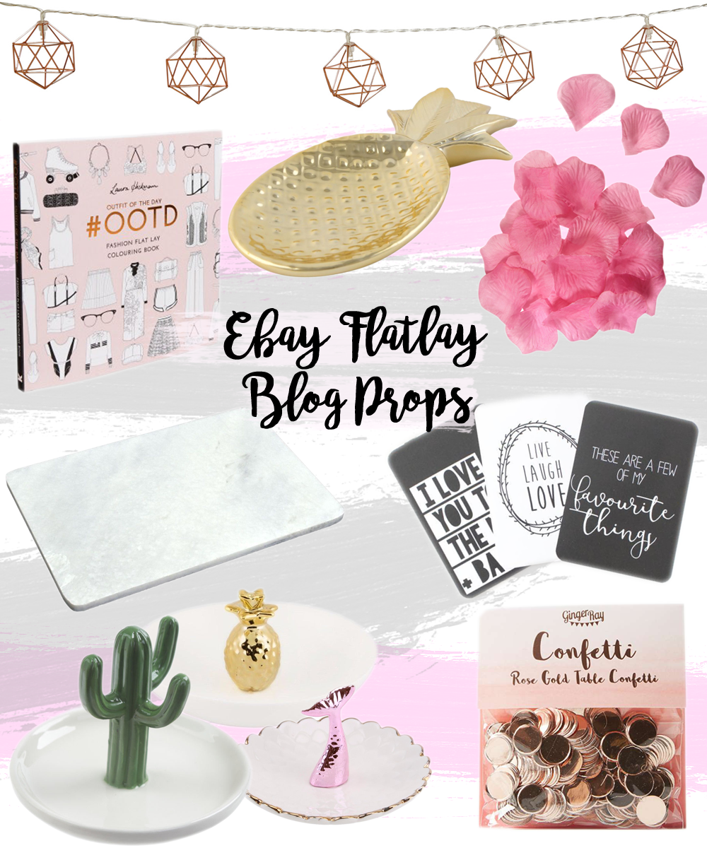 Ebay Flatlay Blogging Props // LUCY-COLE