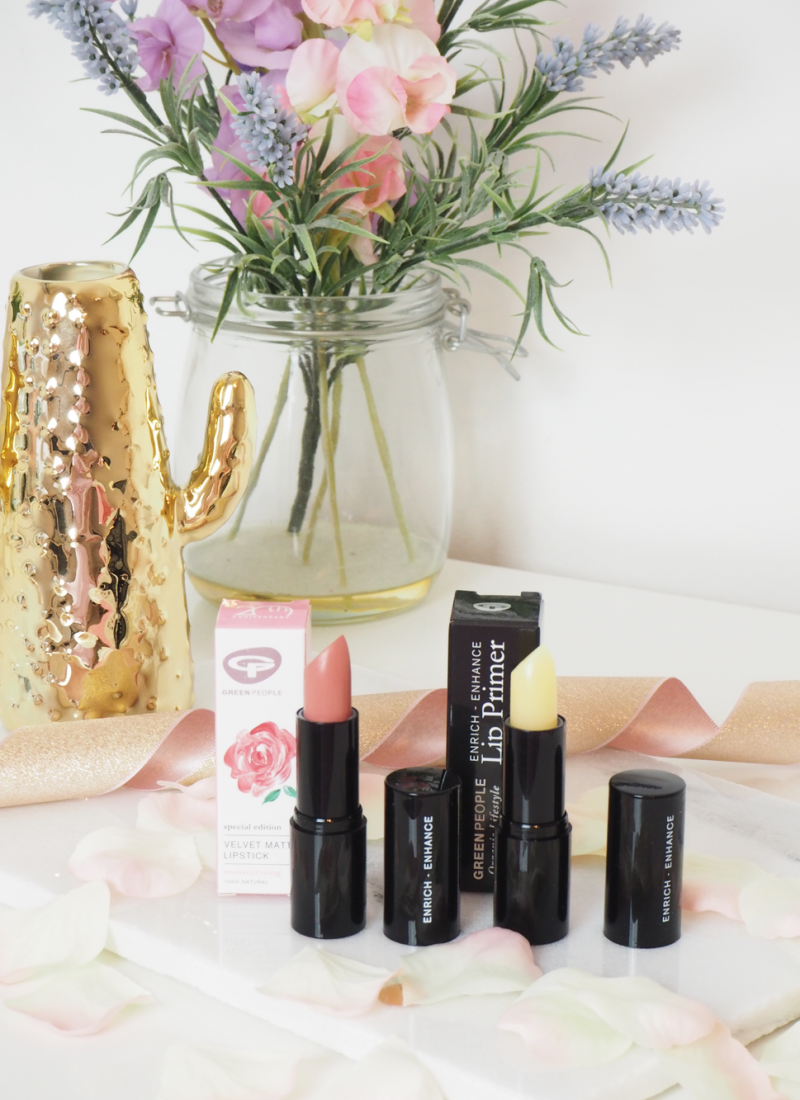 The Organic Lifestyle Lipstick from Green People // LUCY-COLE