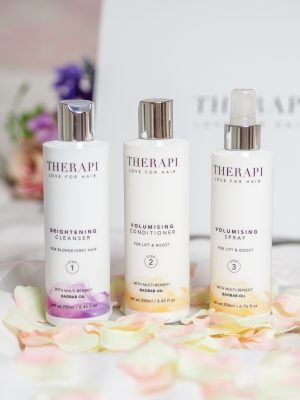 A new haircare routine with Therapi // LUCY-COLE