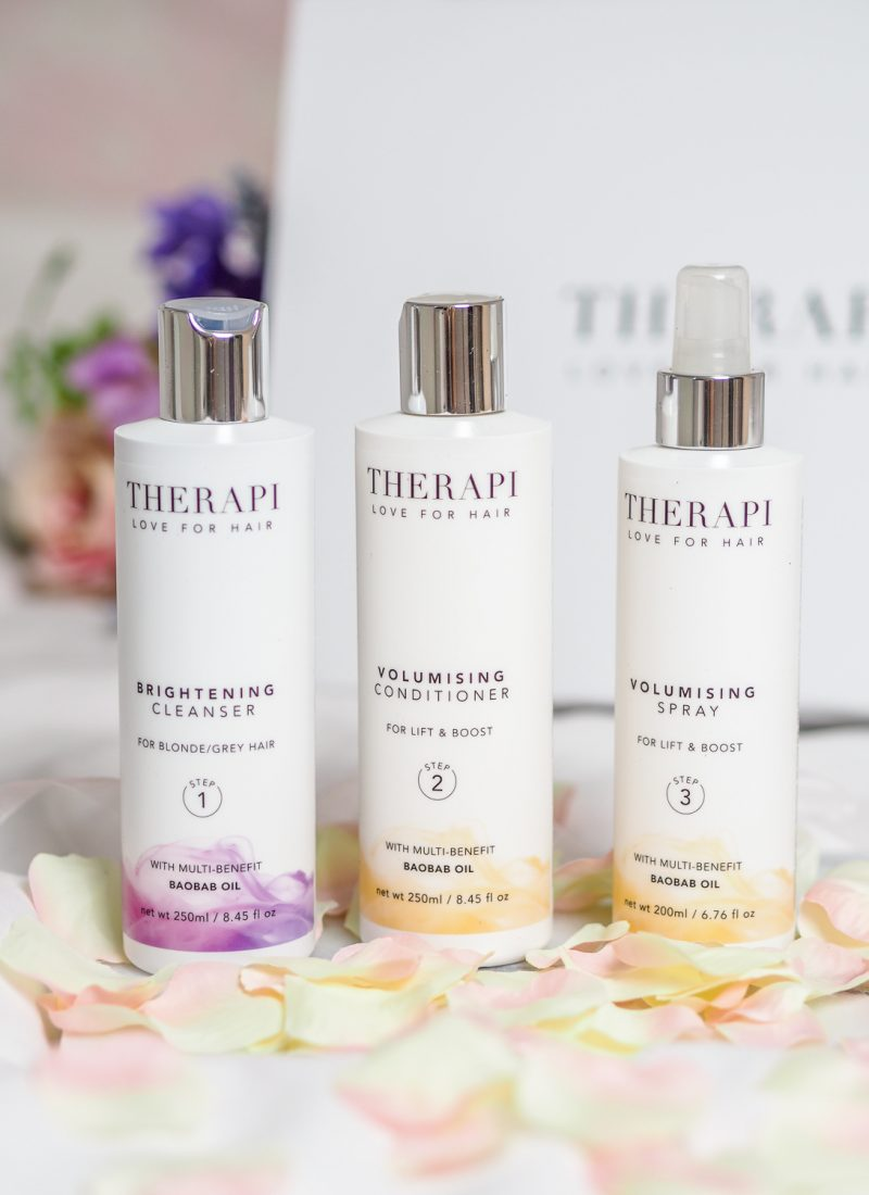 A new haircare routine with Therapi