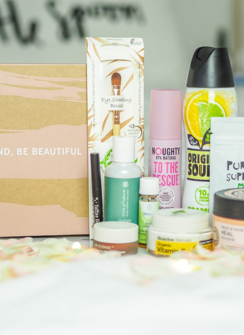 What's in the limited edition vegan Glossybox?