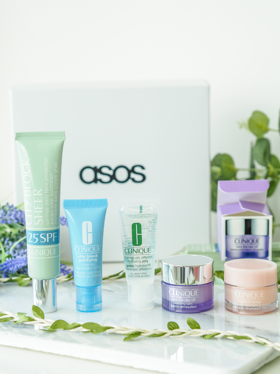 ASOS Clinique Box // LUCY-COLE