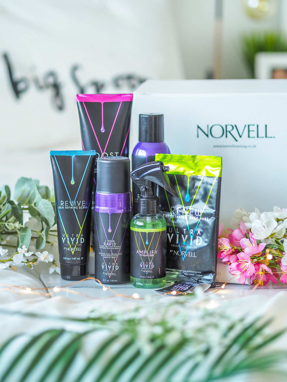 Faking the bronze with Norvell Tanning Products // LUCY-COLE