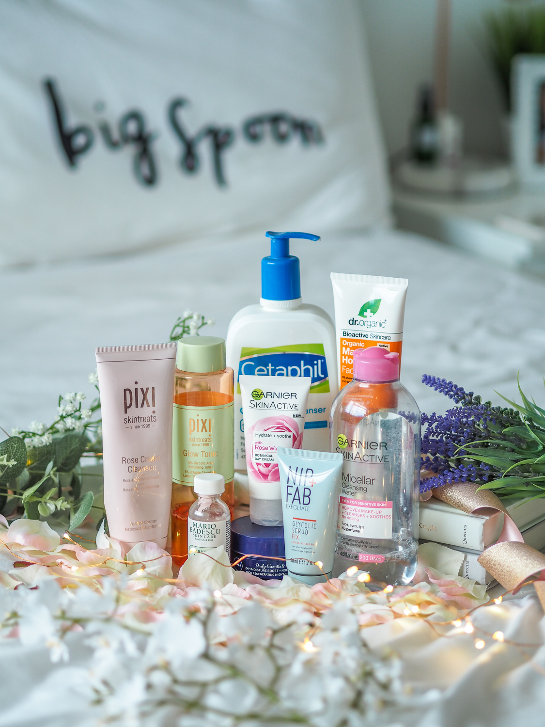 Everything in my skincare collection right now // LUCY-COLE
