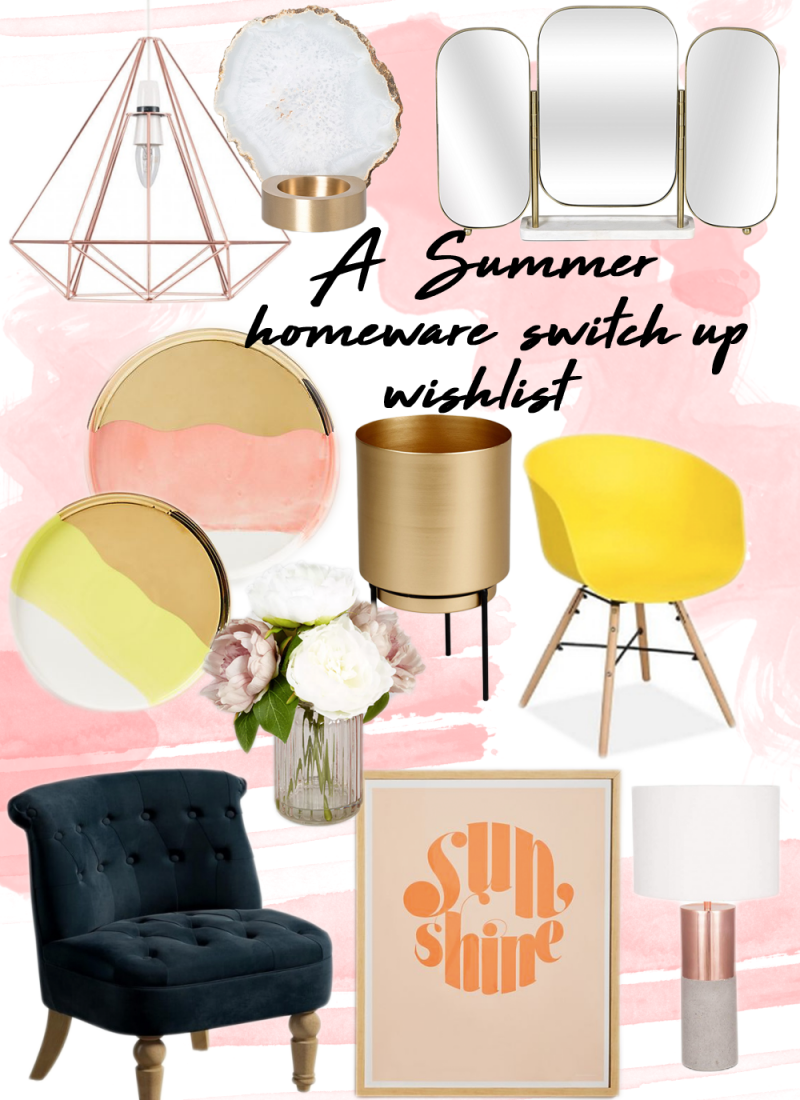 A summer homeware switch up wishlist