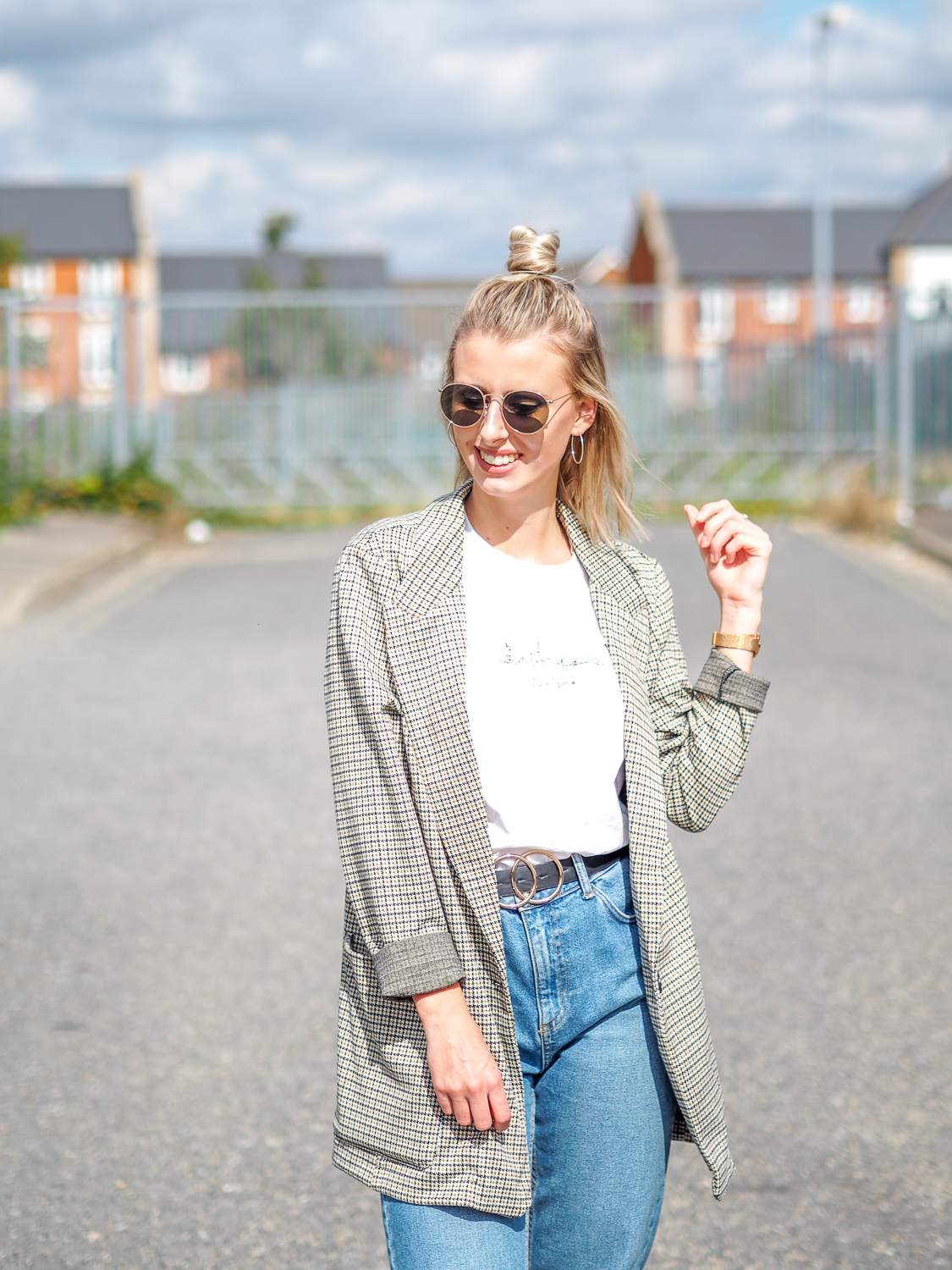 The must have item for Autumn: The checkered blazer | LUCY-COLE