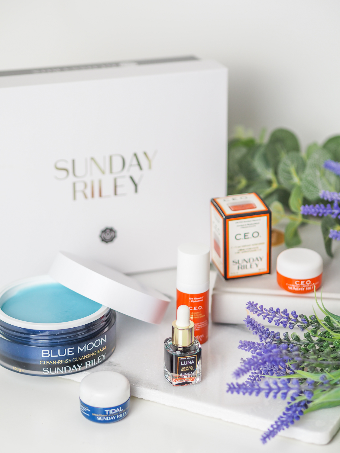 The Sunday Riley Glossybox   LUCY-COLE