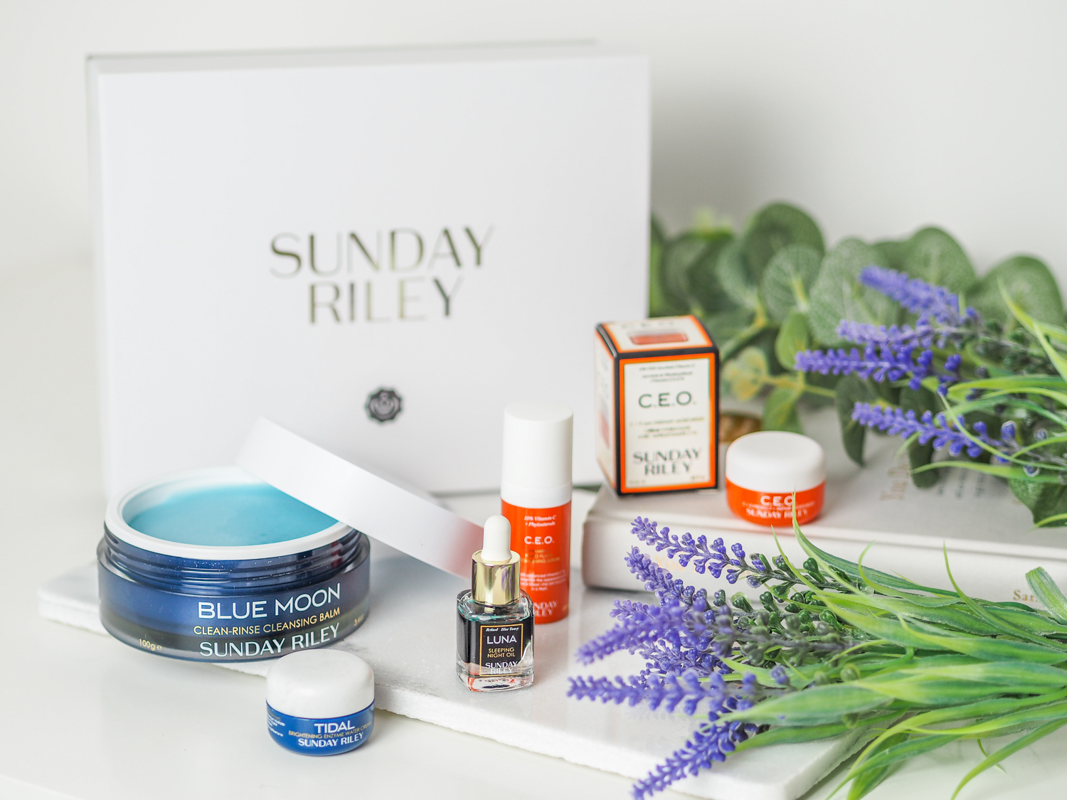 The Sunday Riley Glossybox | LUCY-COLE