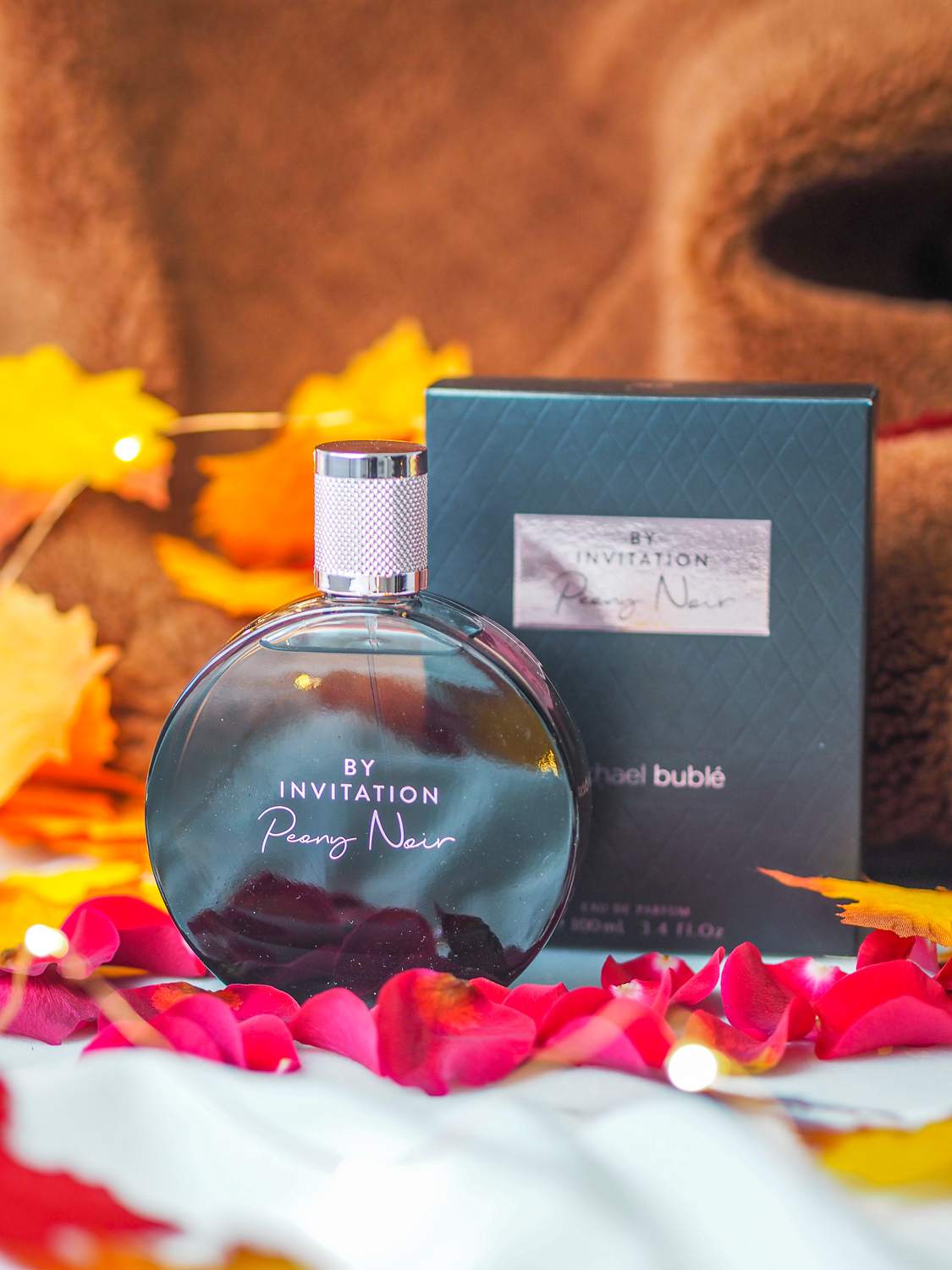 The new scent from Michael Buble: Peony Noir   lucy-cole