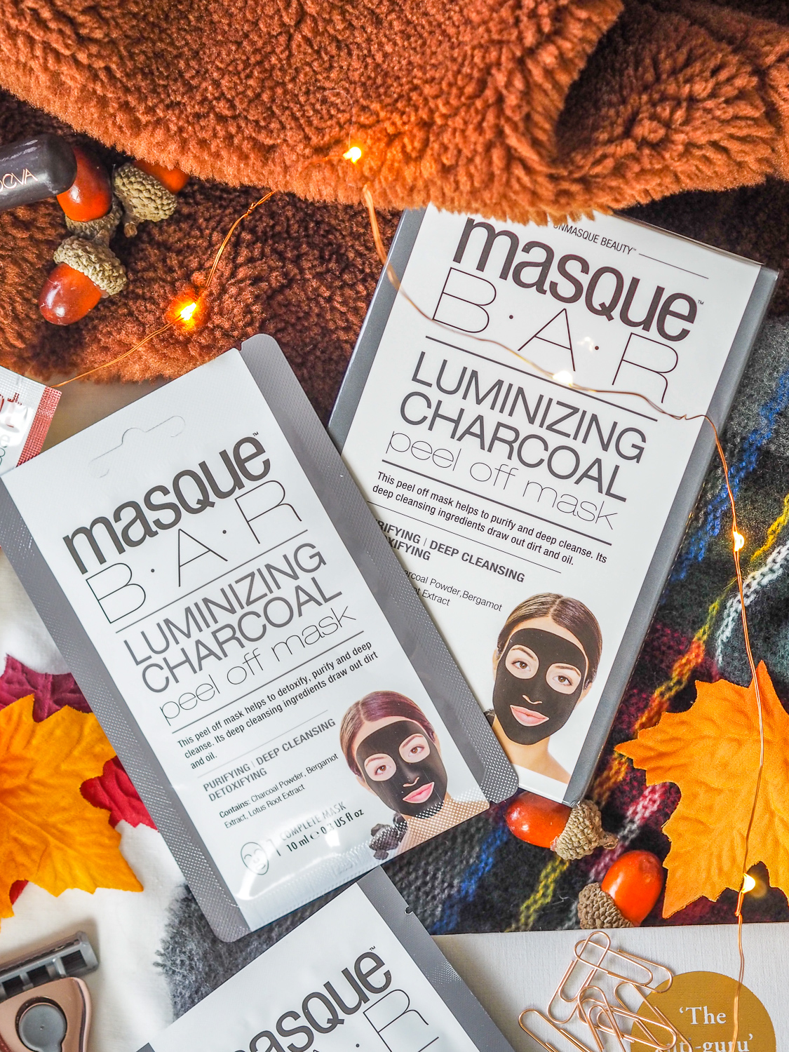 Pampering with Masque Bar | lucy-cole