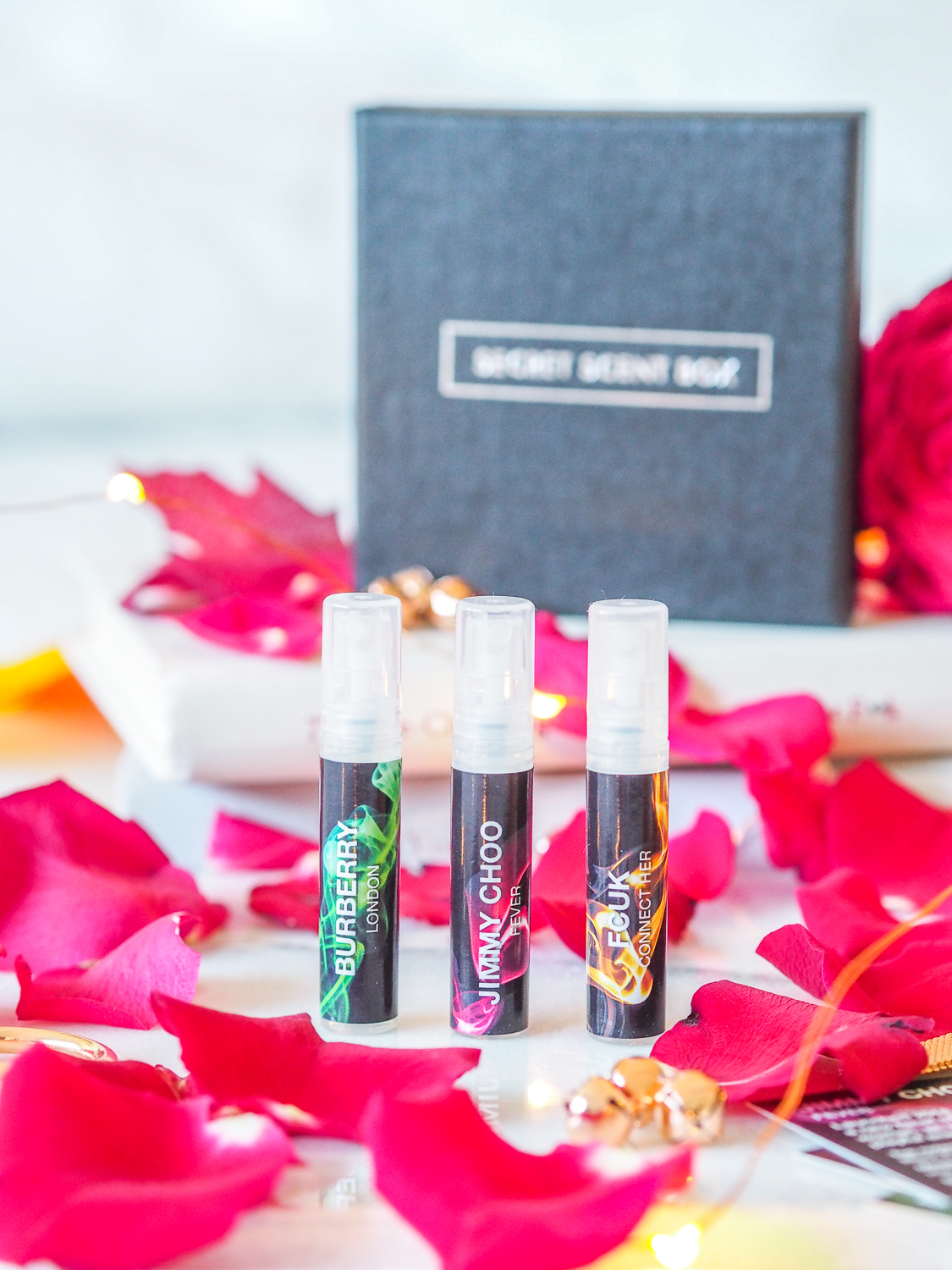 A new fragrance subscription box: The Secret Scent Box | lucy-cole