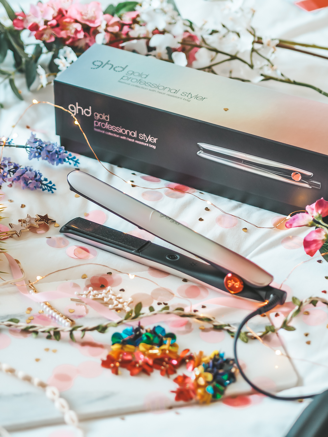 How I style my hair with the GHD Gold Professional Styler | lucy-cole