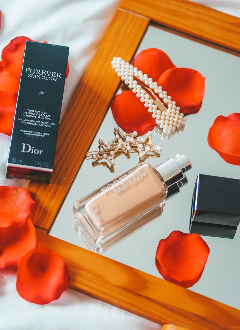 The light and glowy foundation you need: Dior Forever Skin Glow Foundation
